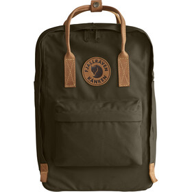 "Fjällräven Kånken No.2 Laptop 15"" Backpack dark olive"